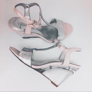 Shoes - Calvin Klein heels size 7.5 lucite heels